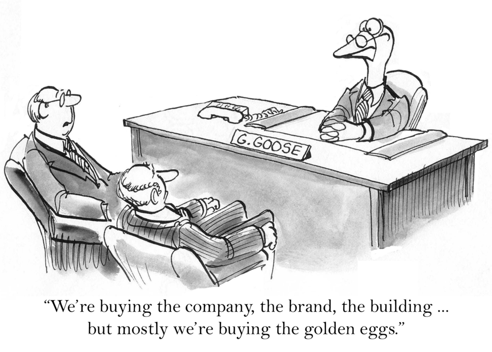 M&A Cartoon - Sept